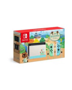 Switch Console, Animal Crossing Special Edition