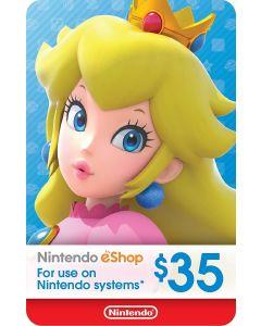 Nintendo Gift Card $35