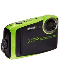 Fujifilm - FinePix XP120 16.4-Megapixel Waterproof Digital Camera - Lime