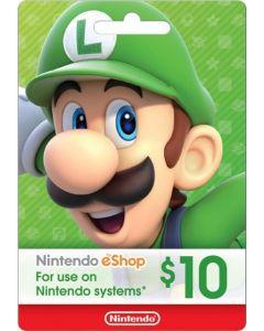 Nintendo - eShop $10 Gift Card