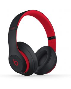 Beats Studio3 Wireless Noise Cancelling Over-Ear Headphones - Defiant Black-Red
