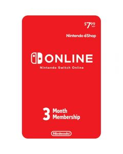 Nintendo - Switch Online 3 Month Membership Card