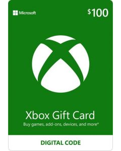 Microsoft - Xbox $100 Gift Card