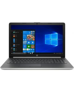 """HP - 15.6"""" Touch-Screen Laptop - Core i7 8th Gen-12GB Memory - 512GB SSD Windows 10 S Home- Natural silver"""