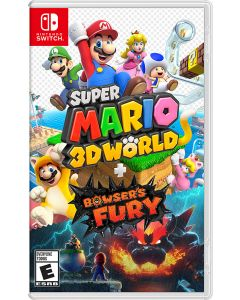 Super Mario 3D World + Bowser's Fury - Nintendo Switch, Nintendo Switch Lite