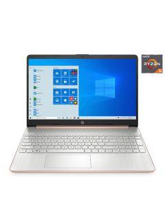 "HP 15.6"" HD Laptop Ryzen 5 8GB/256GB SSD Windows 10 Home - Rose Gold"