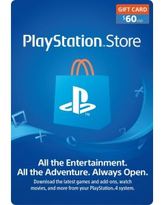 Sony - PlayStation Store $60 Gift Card