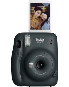 Fujifilm - instax mini 11 Instant Film Camera - Charcoal Gray