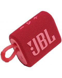 JBL - GO3 Portable Waterproof Wireless Speaker -Red