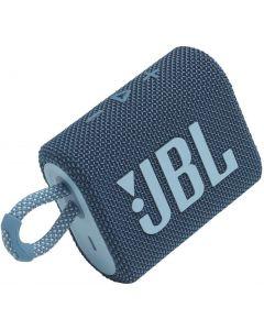 JBL - GO3 Portable Waterproof Wireless Speaker -Blue