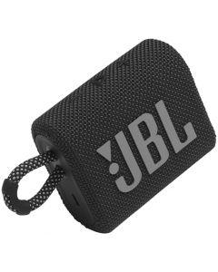 JBL - GO3 Portable Waterproof Wireless Speaker -Black
