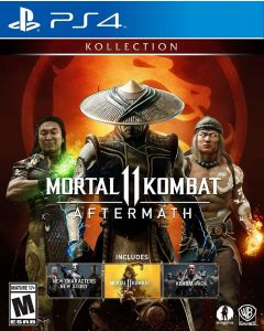 PS4 Mortal Kombat 11 Aftermath collection