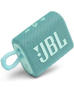 JBL - GO3 Portable Waterproof Wireless Speaker -Teal
