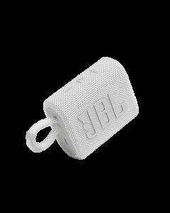 JBL - GO3 Portable Waterproof Wireless Speaker -White