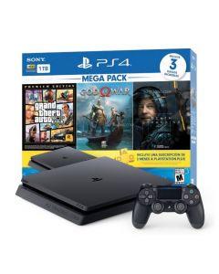 PS4 SLIM 1TB  GTA Bundle