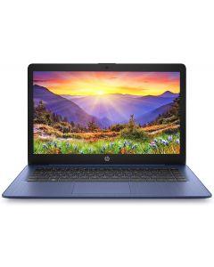 HP Stream 14 HD Intel N4000 4GB RAM 64GB eMMC Webcam BT Windows 10 S Mode Blue