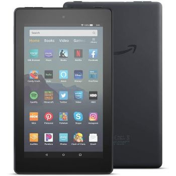 Kindle Fire 7, 2019 16GB Black